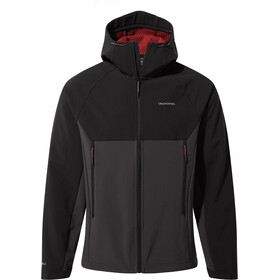 Craghoppers Trent Weatherproof Hooded Jacket Men, black/black pepper